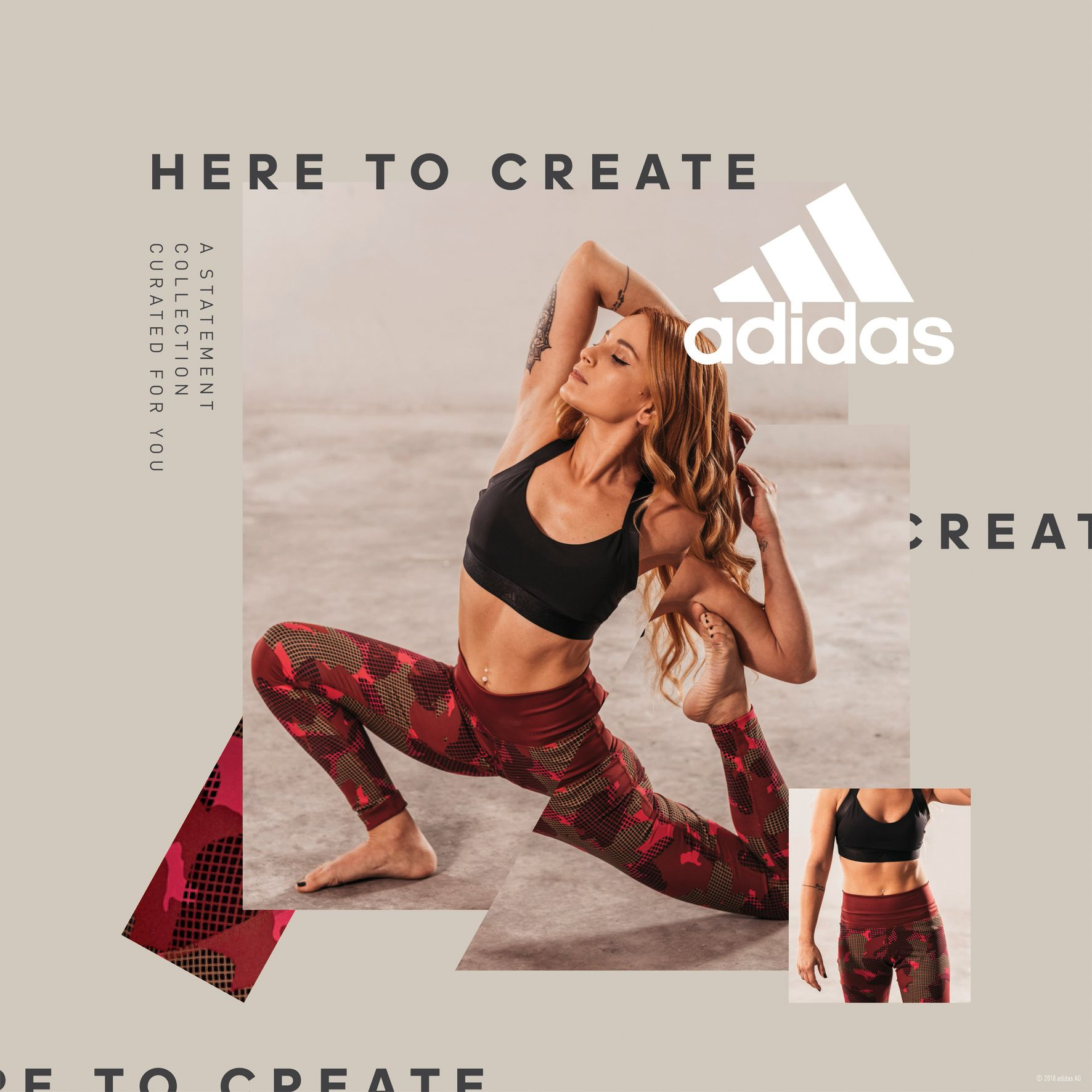 Adidas Women Statement Collection - Alexandra Rizou