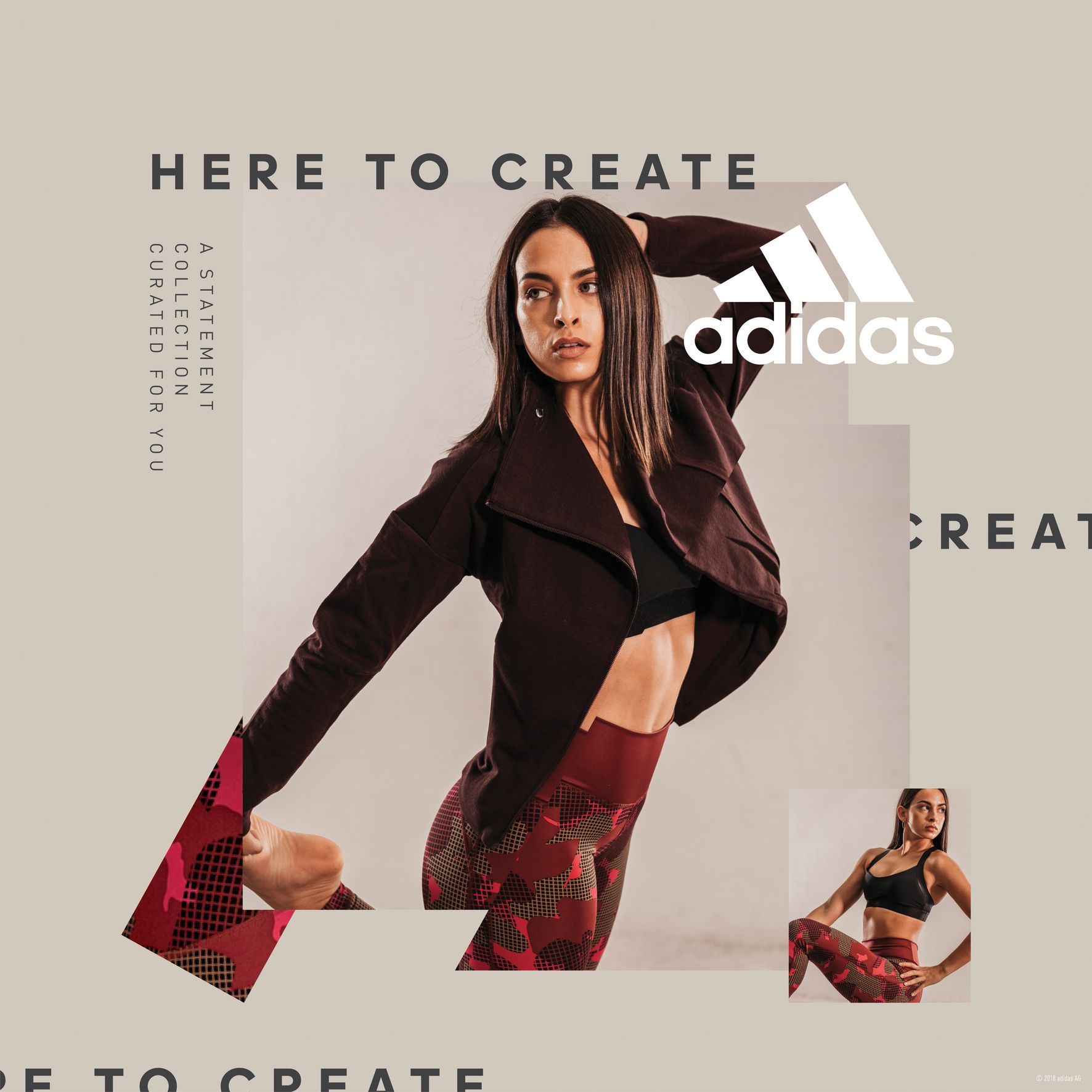 Adidas Women Statement Collection - Anastasia Marinakou