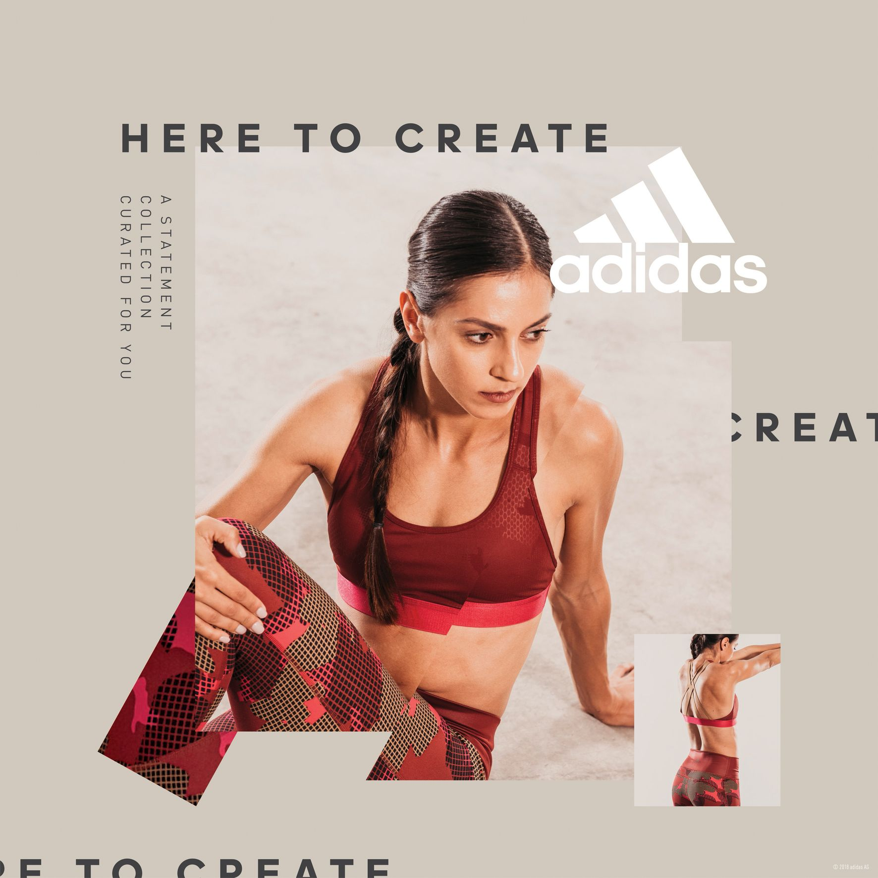 Adidas Women Statement Collection - Elissavet Pesiridou