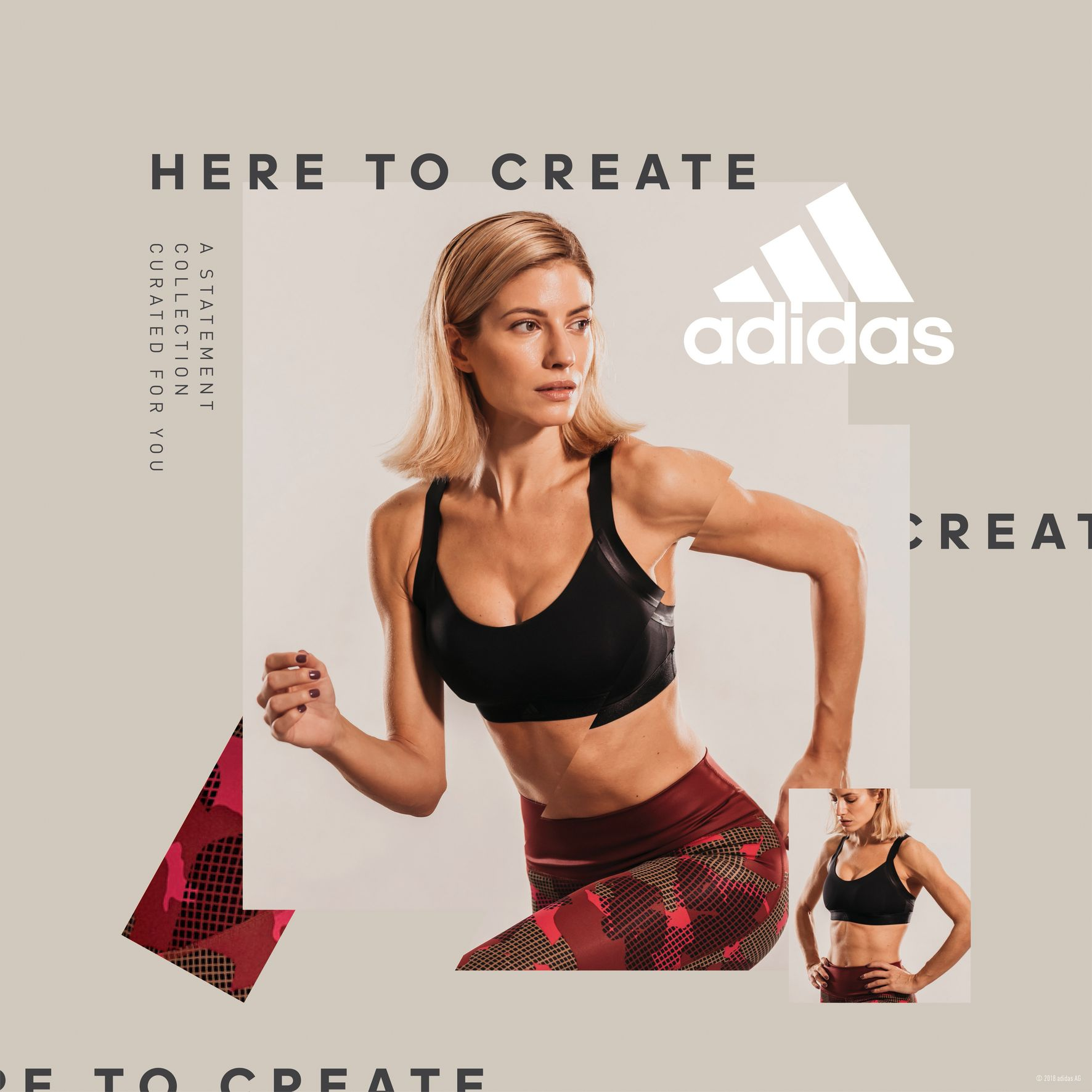 Adidas Women Statement Collection - Evangelia Aravani