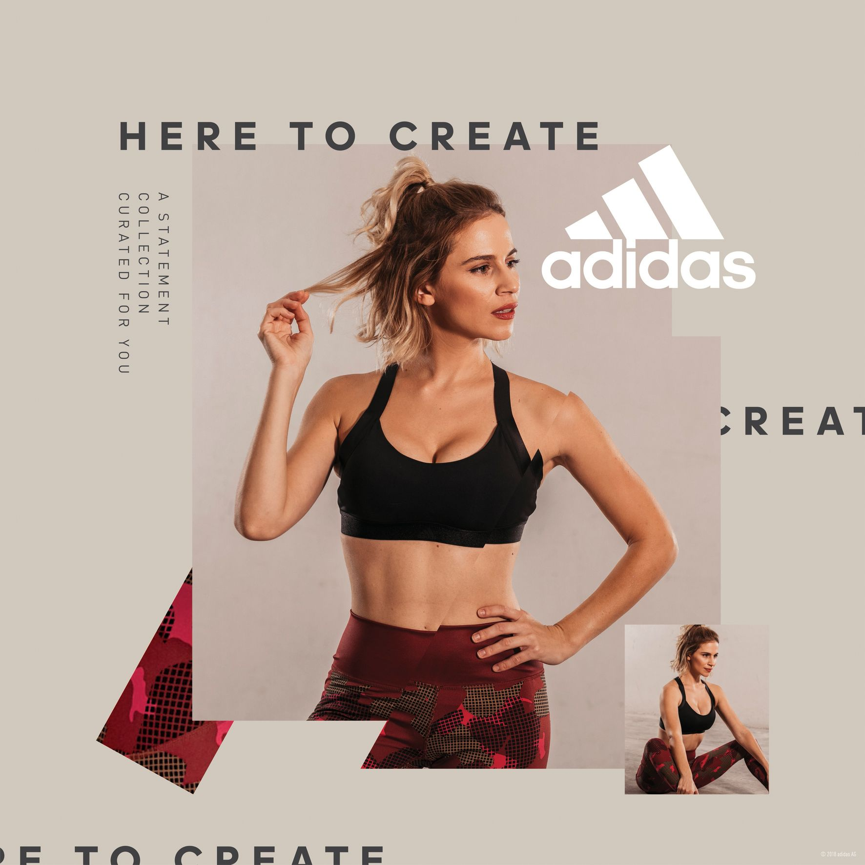 Adidas Women Statement Collection - Nadia Boule