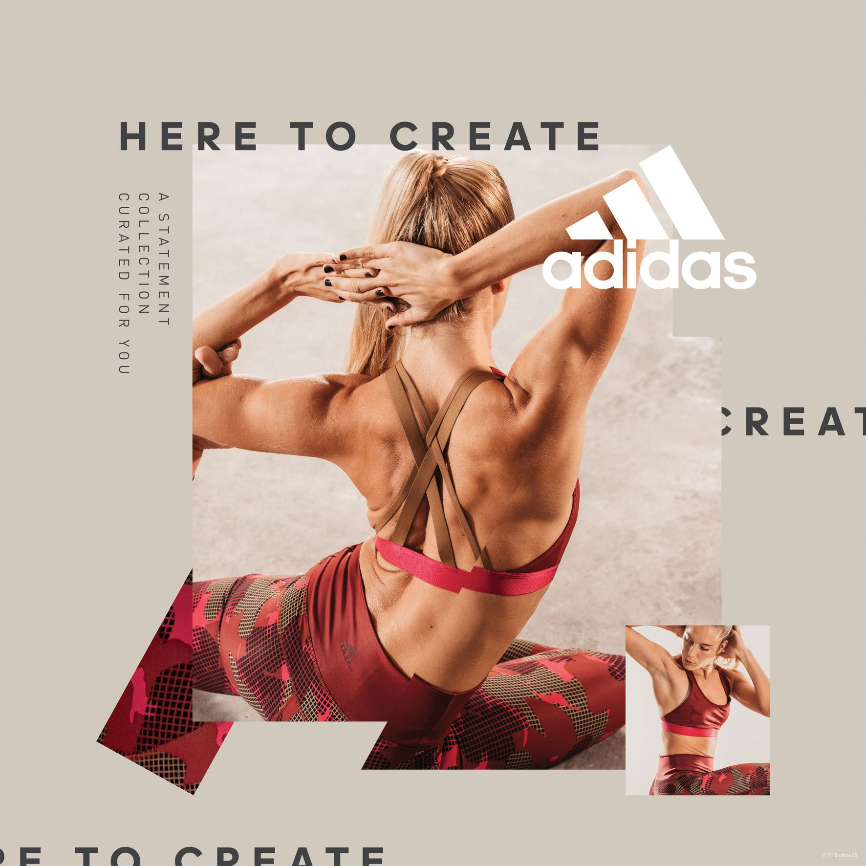 Adidas Women Statement Collection - Poly Chatzoglou