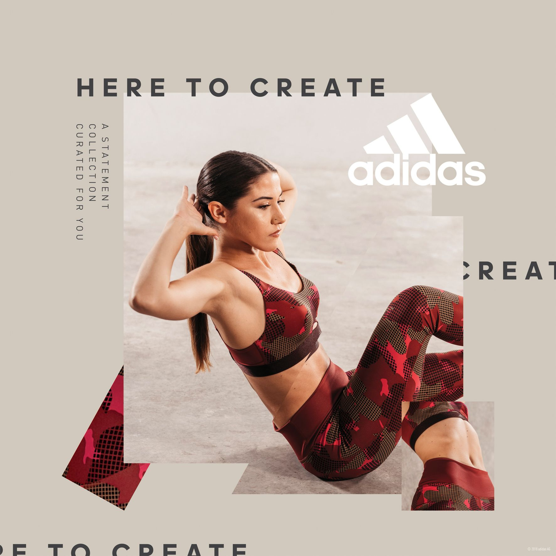 Adidas Women Statement Collection - Sofia Karioti